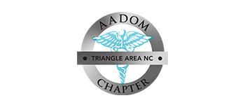 AADOM Triangle Chapter Logo